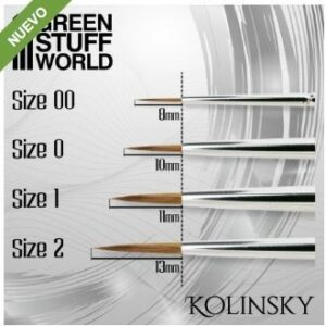 SILVER SERIES Pincel Kolinsky – 1