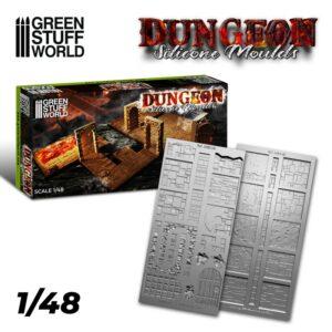 Moldes De Silicona: Dungeon