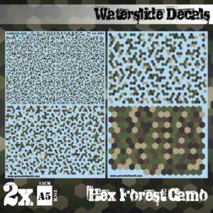 Calcas Al Agua – Camuflaje Bosque Hex
