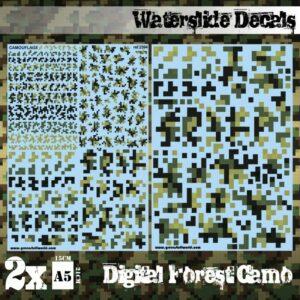 Calcas Al Agua – Camuflaje Bosque Digital