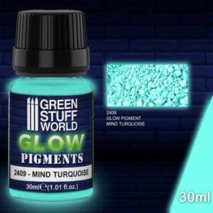 Pigmentos Luminiscentes – TURQUESA De La MENTE