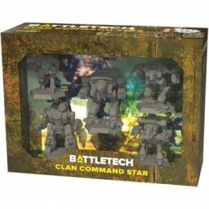 Battletech: Clan Command Star – Ingles