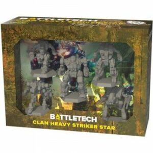 Battletech: Clan Heavy Striker Star – Ingles