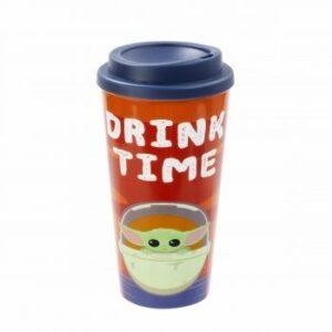 Funko POP! – Star Wars: The Child: Lidded Mug: Drink Time