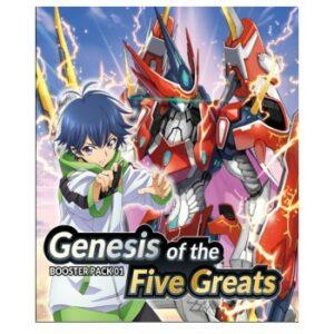 Vanguard – Booster Genesis Of The 5 Greats –EN