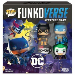 Funkoverse Juego De Mesa DC Comics Base Set ( Inglés )