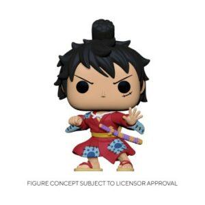 Funko POP! POP Animation One Piece – Luffy In Kimono