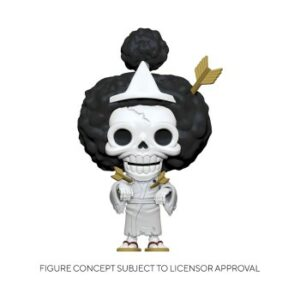 Funko POP! POP Animation One Piece – Brook Vinyl Figure 10cm