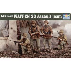 1:35 Trumpeter: Waffen SS Assault Team