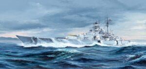 1:700 Trumpeter: German Bismarck Battleship 1941