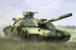 1:35 Trumpeter: Ukraine T-64BM Bulat Main Battle Tank 09592