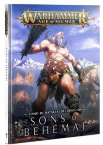 Sons Of Behemat: Tomo De Batalla (Español) (93-01)
