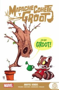 Marvel Young Adults: Mapache Cohete Y Groot 1 – Brotes Verde