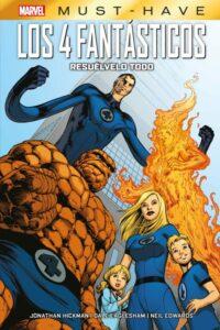 Marvel Must-Have: Los 4 Fantasticos – Resuélvelo Todo