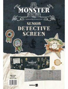Little Monster Detectives: Senior Detective Screen (Inglés)