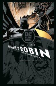 All-Star Batman Y Robin, El Chico Maravilla (Black Label)