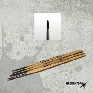 Broken Toad – Miniature Series MK3 Brush – Size 2