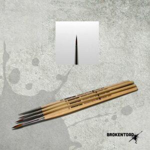 Broken Toad – Miniature Series MK3 Brush – Size 0