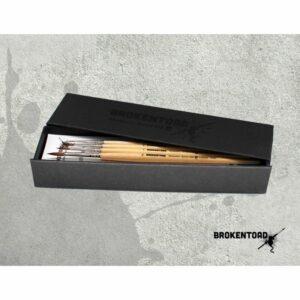 Broken Toad – Miniature Series MK3 Brush – Boxed Set