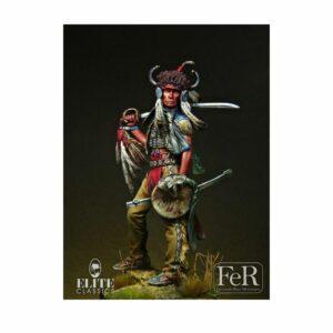 Sioux Dakota Warrior, 1876