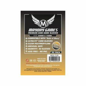 Mayday: Premium Custom Card Sleeves 50x75mm (50u) (7135)