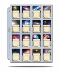 Ultra Pro: Página De 16 Bolsillos 41 Mm X 63 Mm