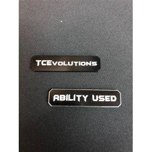 PKM TCG: Marcadores De Habilidad – Negro