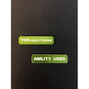 PKM TCG: Marcadores De Habilidad – Verde