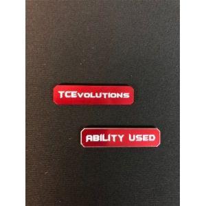 Pokemon TCG: Marcadores De Habilidad / Ability Marker (Red)