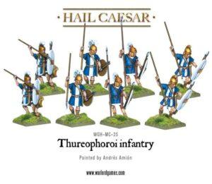 Hail Caesar: Thureophoroi Infantry