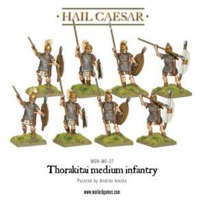 Hail Caesar: Thorakitai Medium Infantry
